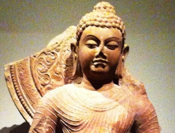 Buda d periodo Gupta 5o sec DC em Bengala