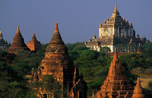 My092 - Ruinas da cidade de Bagan (tem mais de 1000 anos)