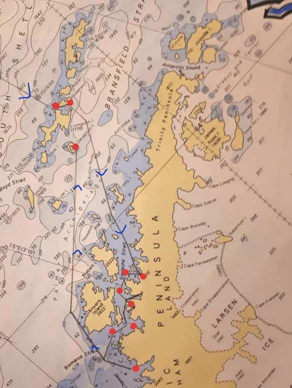 mapa rota GT